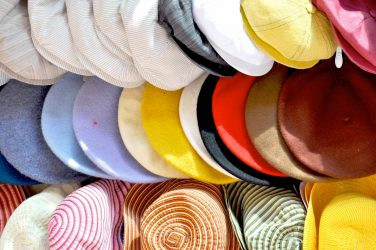 Traditional italian summer hats
