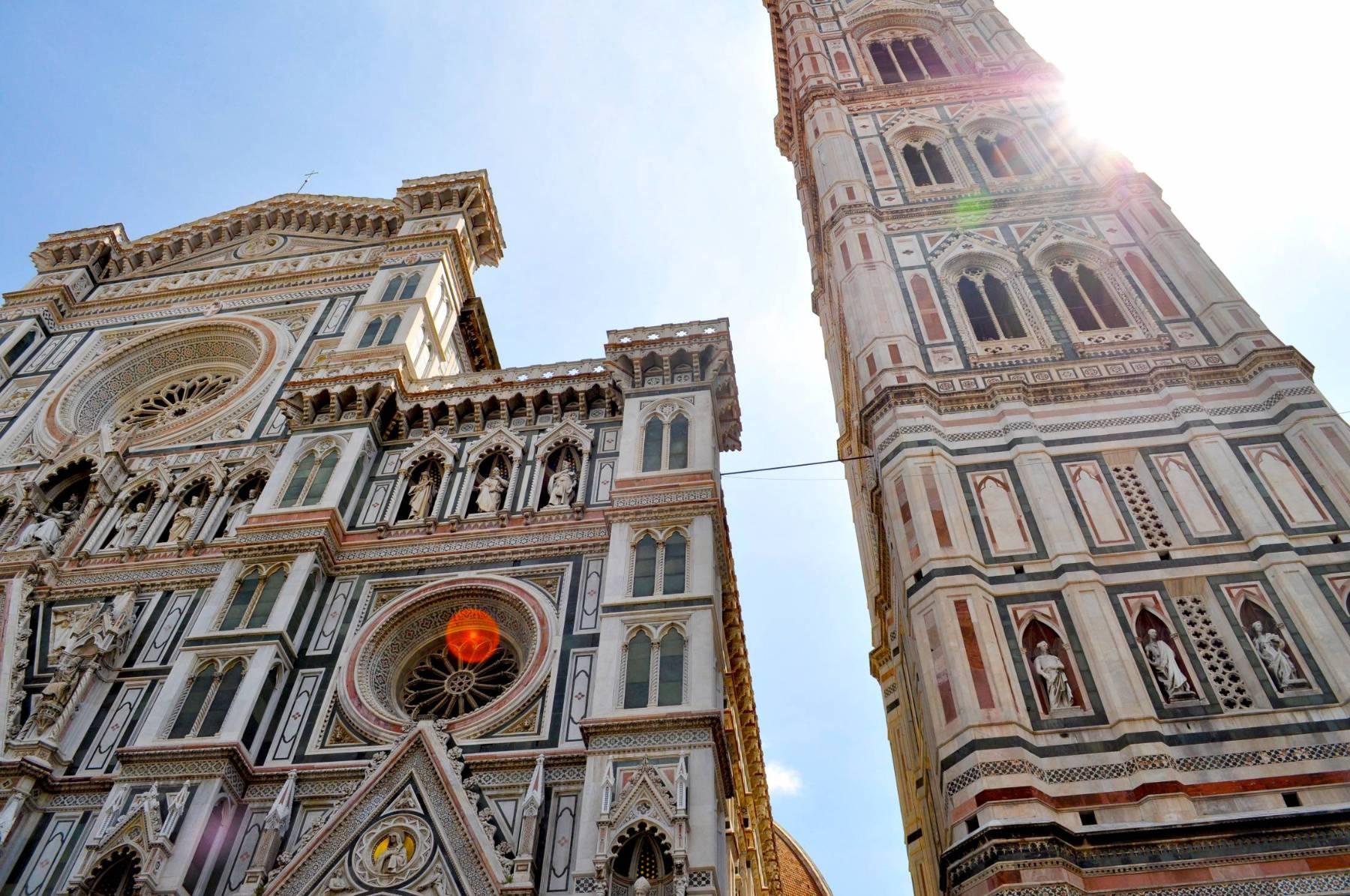 Der Dom von Florenz und der Glockenturm