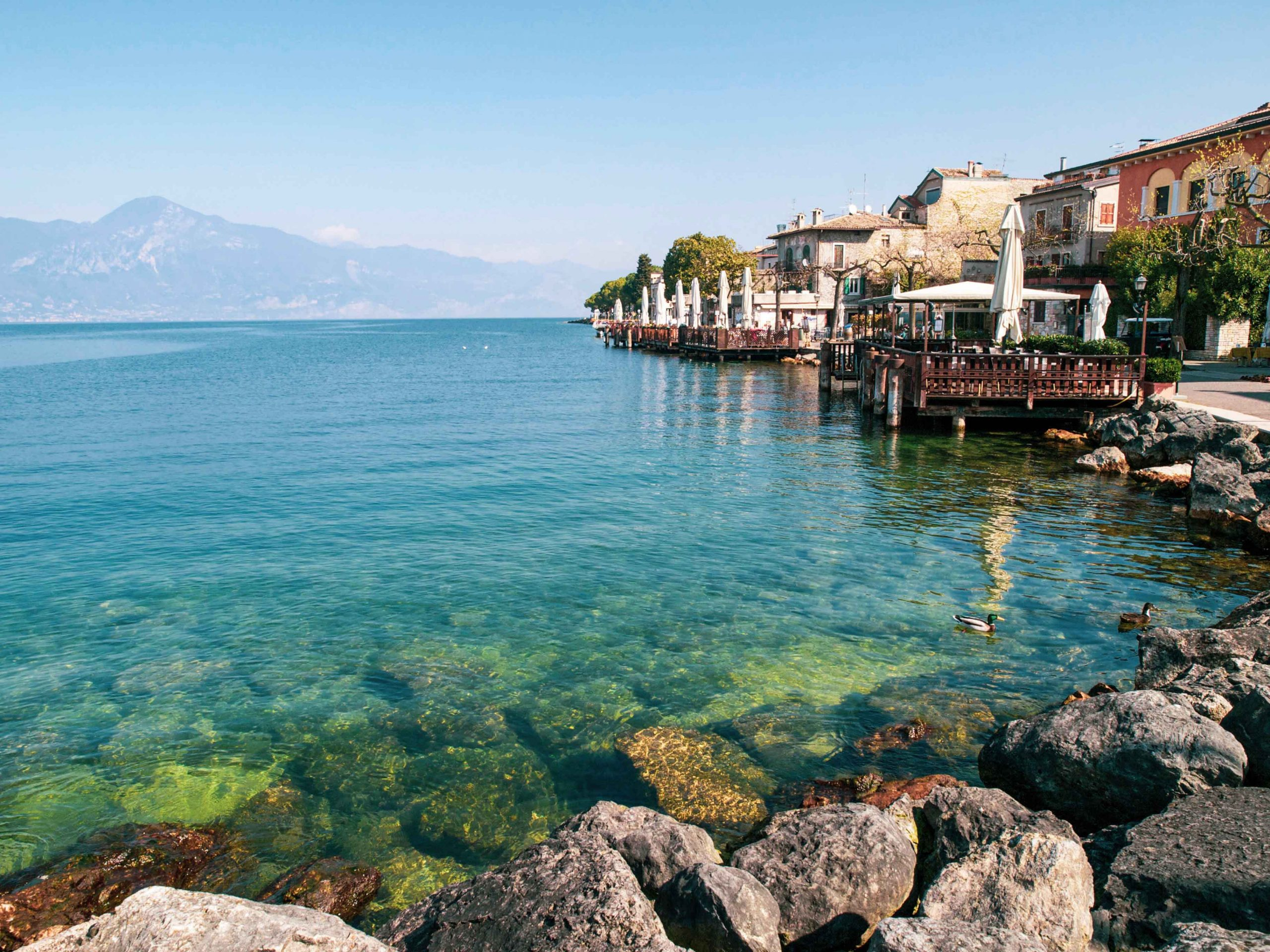 Elba Insel Küste Sommer