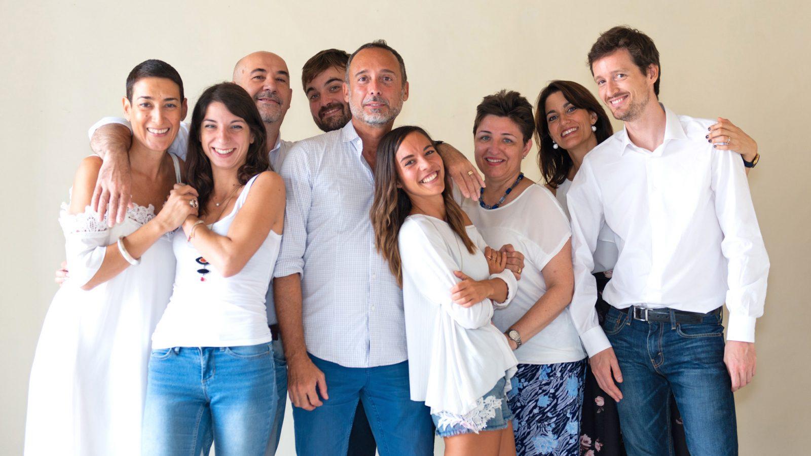 italienisches Lehrerteam