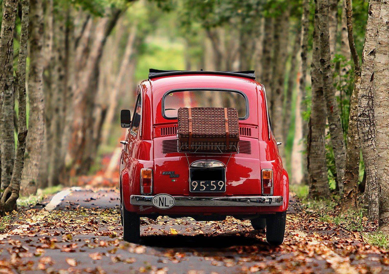 Auto kommt nach Florenz