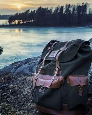 Una mochila de viaje
