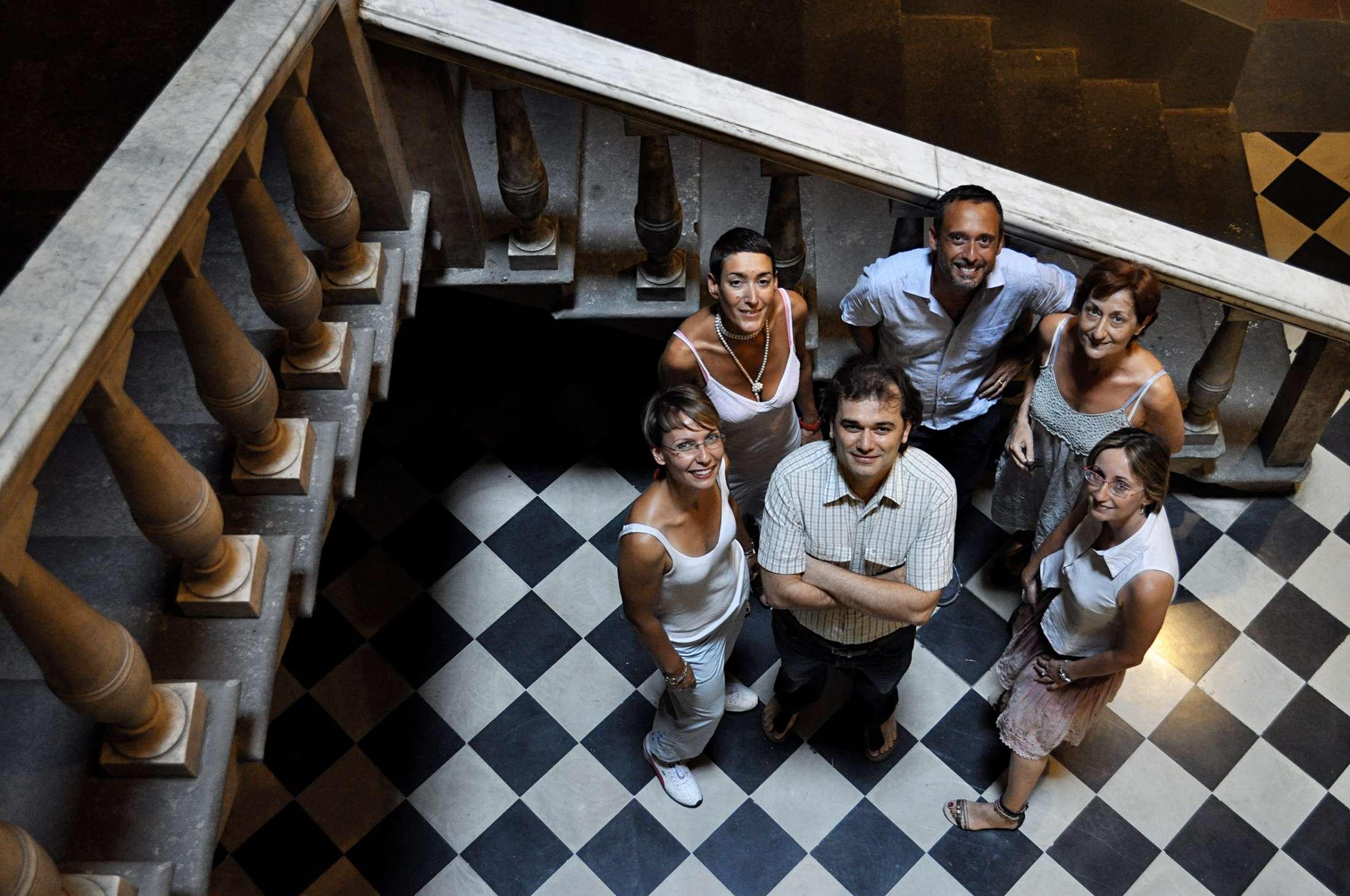 The team of teachers of Europass language school
