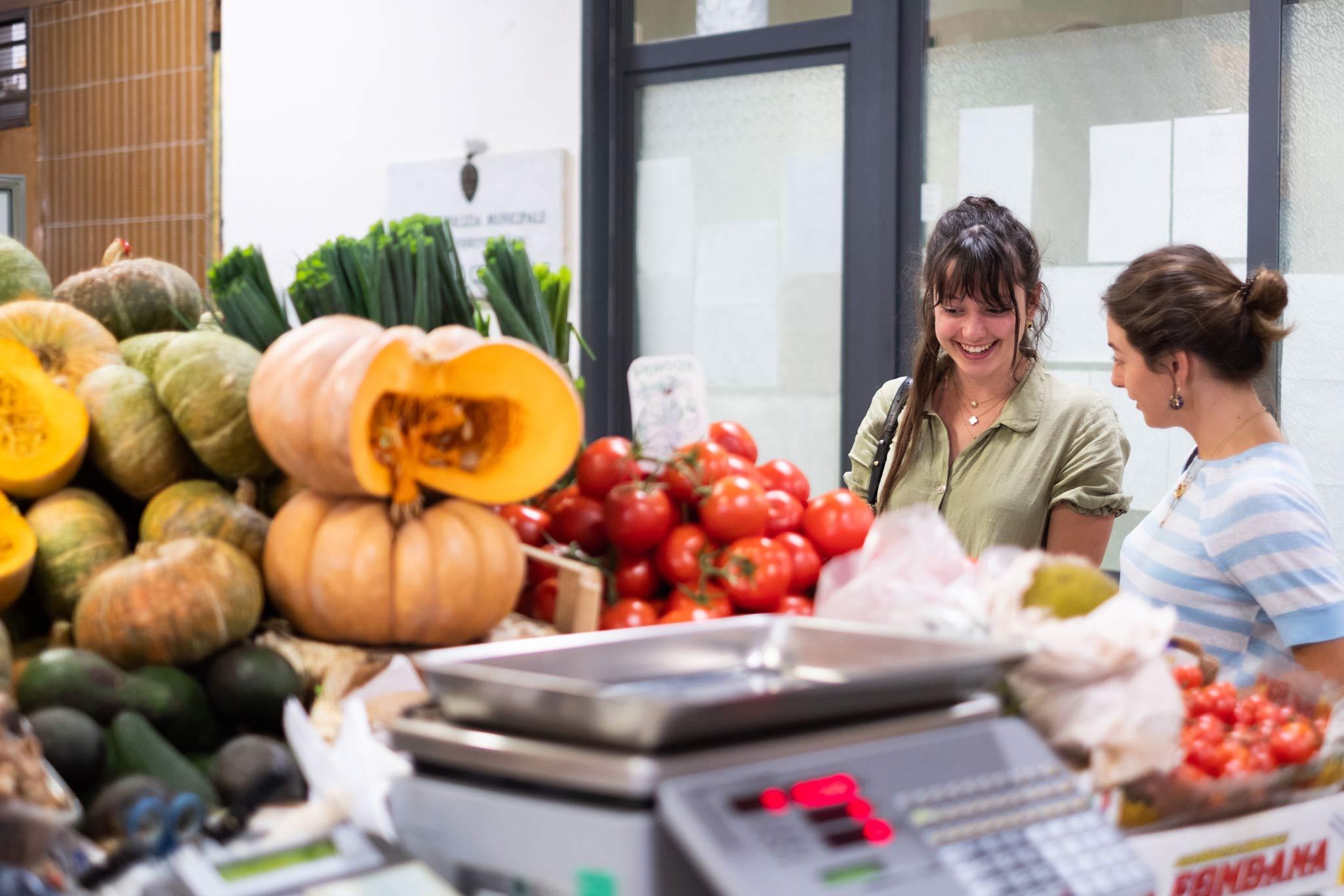 mercato alimentare italiano a firenze