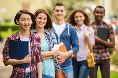 classe di studenti internazionali