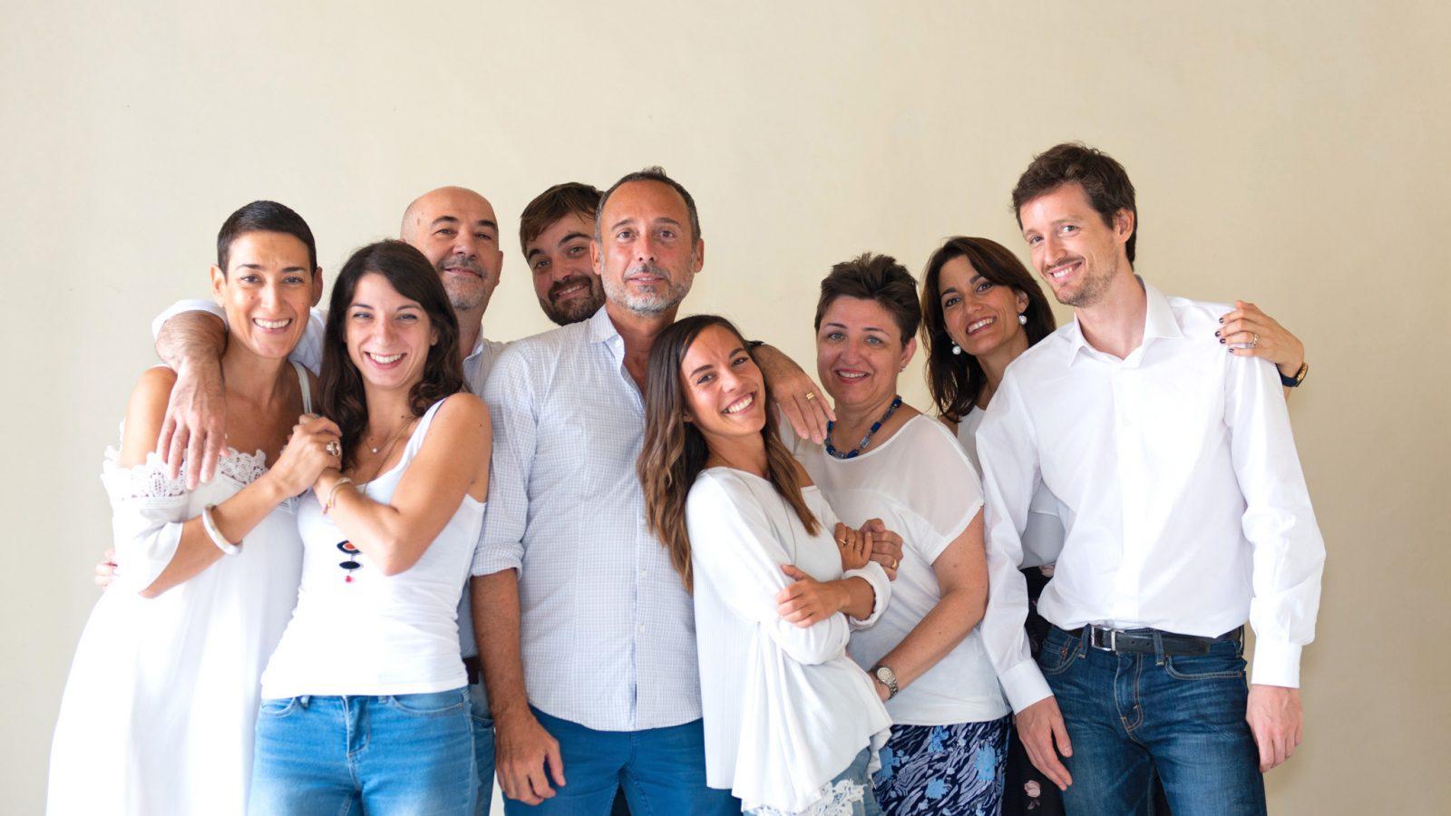 squadra di insegnanti di italiano