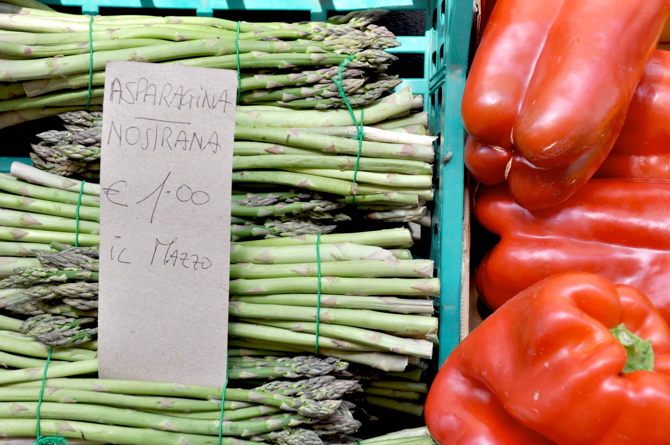 Fresh vegetables from Florence market