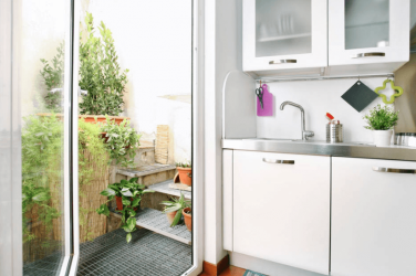 Kitchen private apartment