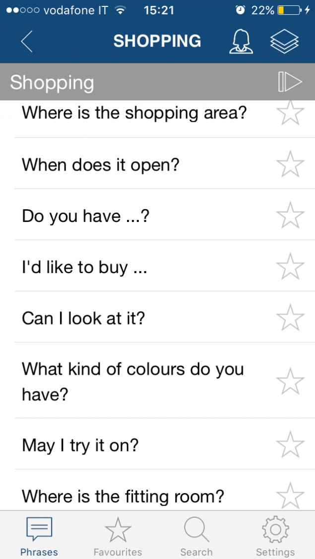 Bravolol App Screenshot