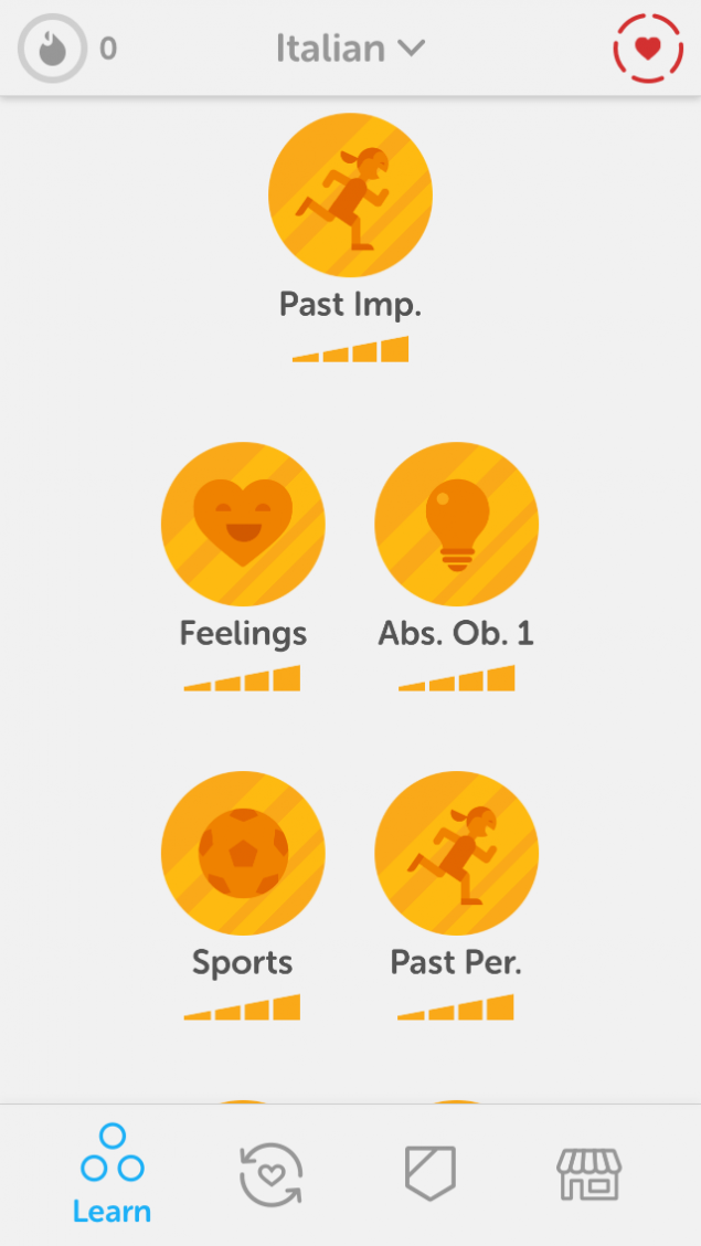 Duolingo App Screenshot