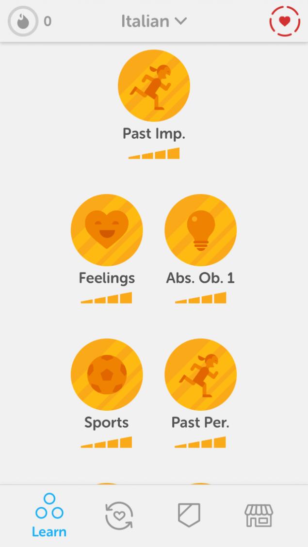 Duolingo App Screenshot