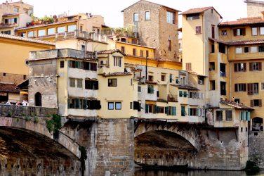 Ponte Vecchio, old bridge in Florence