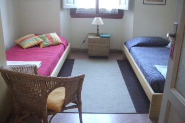 Double room host family apartment