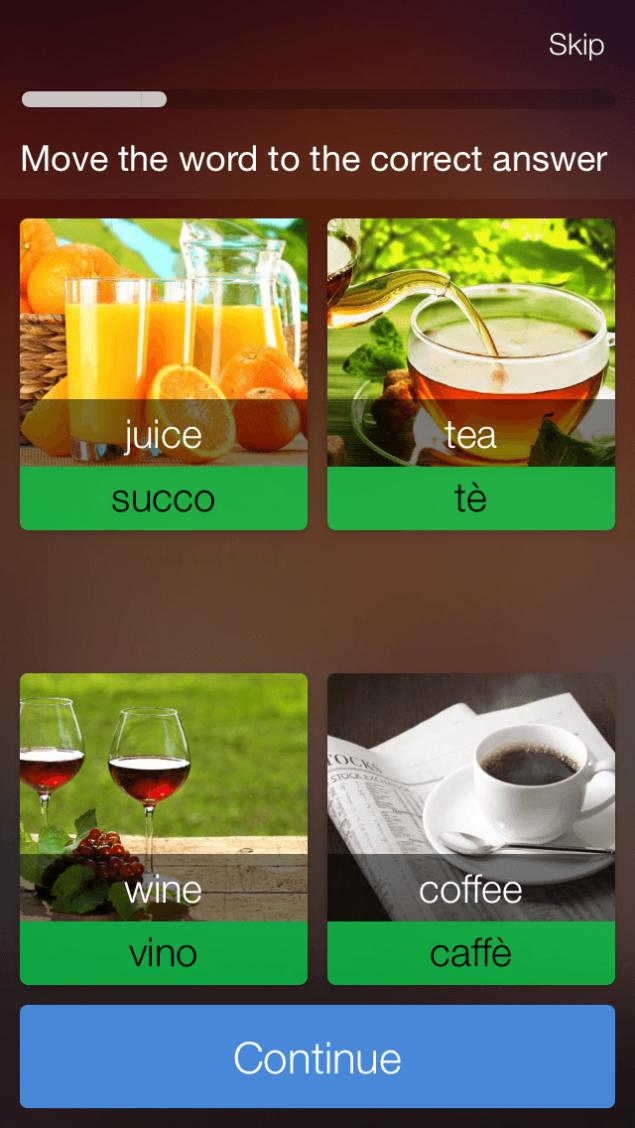 Mondly App Screenshot