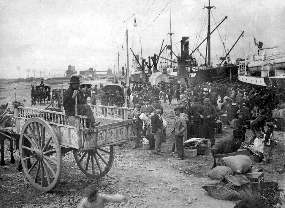 Italian immigrants in Buenos Aires